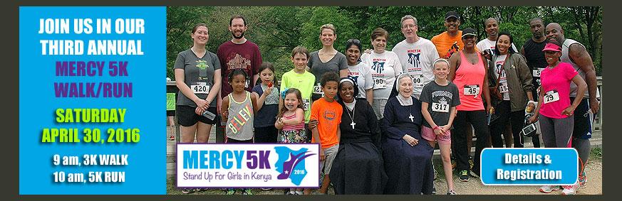 2016 Mercy 5K Walk and Run